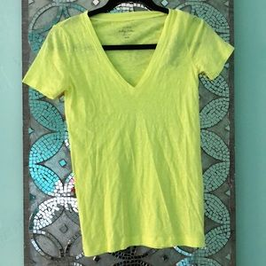 Neon Yellow J.Crew T-Shirt